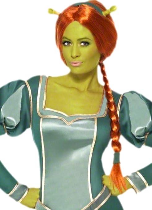 erdbeerloft - Mujer Shrek Princesa Fiona Disfraz, M de l, Gris: Amazon.es: Juguetes y juegos