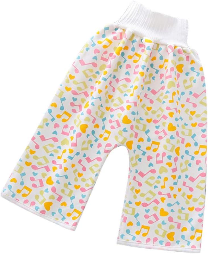 Deciduous Baby Dipper Training Skirt Shorts Waterproof High Waist Cotton Sport Pants Children Changing Nappy Washable Underwear Kids