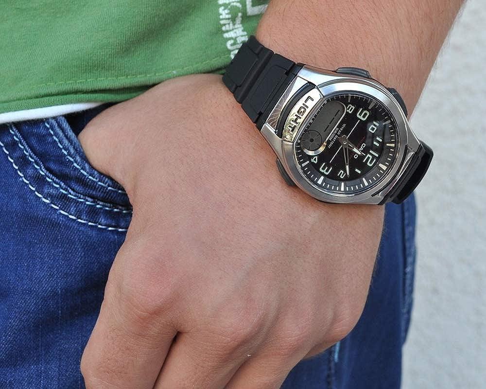 180w Aq Casio Reloj De Pulsera 1bves vmw80OynPN