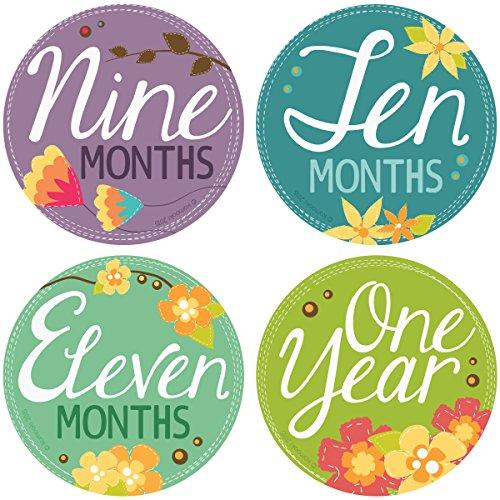 Original StickNsnap milestones stickers diameter product image