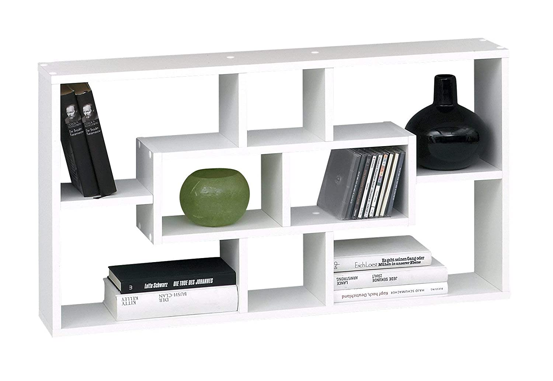 Madera 85x16x47.5 cm Blanco SB-Design Lasse Estanter/ía de Pared