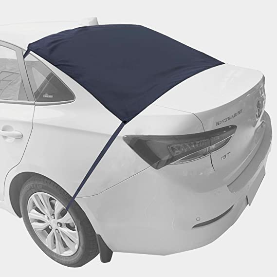 57 X35 MITALOO Rear Windshield Snow Cover All Weather Waterproof Car Snow Cover Vehicle Ice Removal Sun Shade for Winter Protection Rear Windshield Snow Cover