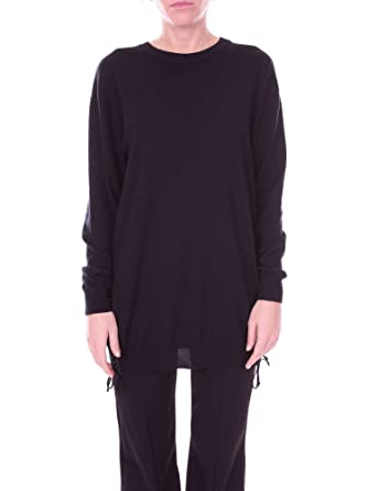MOSCHINO Couture A04955500 Pull-Over Femme Noir M  Amazon.fr ... fe1062bceea2