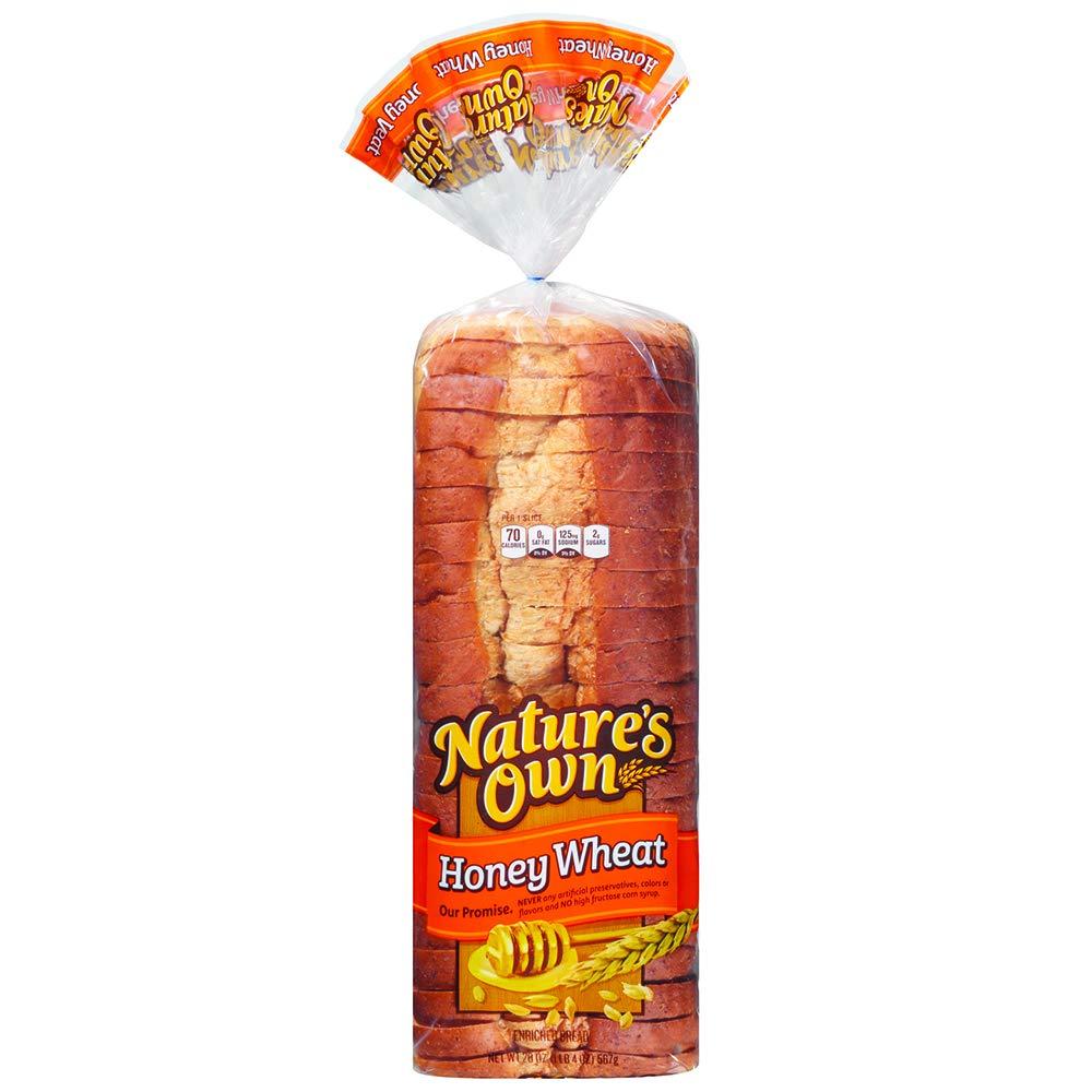 Natures Own Honey Wheat Bread Sliced Loaf - 20 oz Bag