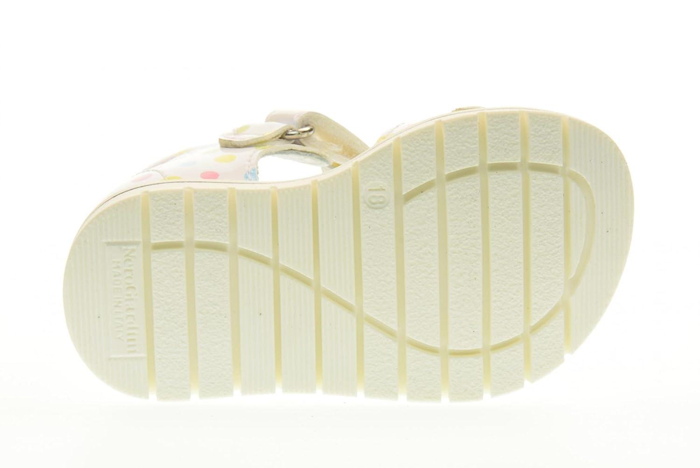 NERO GIARDINI scarpe bambina sandali P722282F 707 (19 22) taglia 22 Bianco- fantasia  Amazon.it  Scarpe e borse a91a7074e00