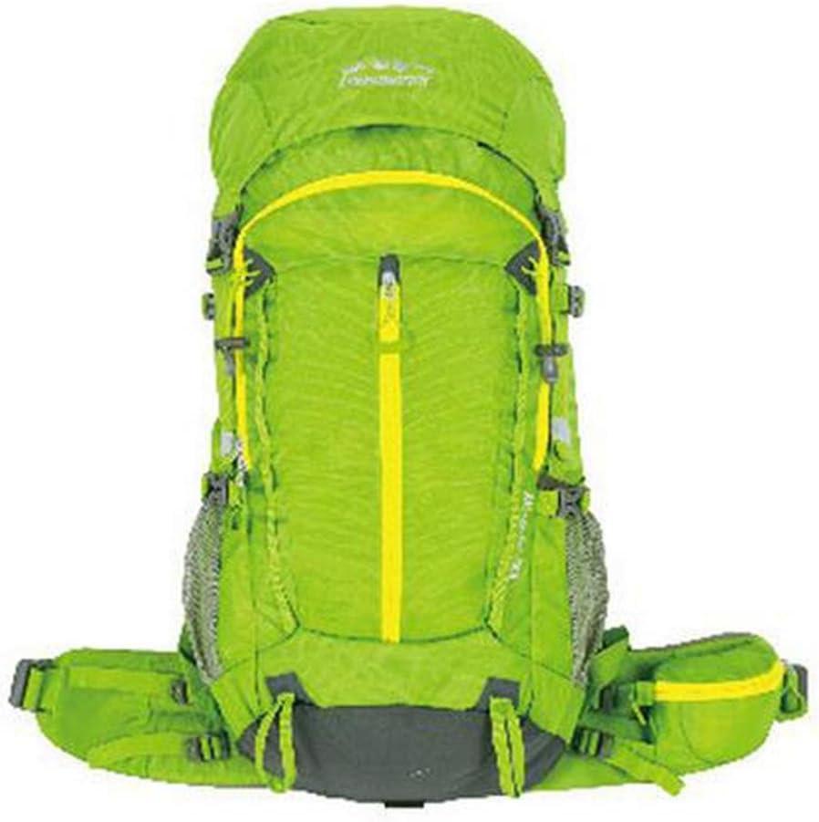 ハイキングバッグ プロの屋外の登山のバックパック大容量バッグトラベルハイキングキャンプバックパックのショルダーバッグの男性と女性 ハイキングバックパック ( 色 : 緑 , サイズ さいず : 56-75L ) 緑 56-75L