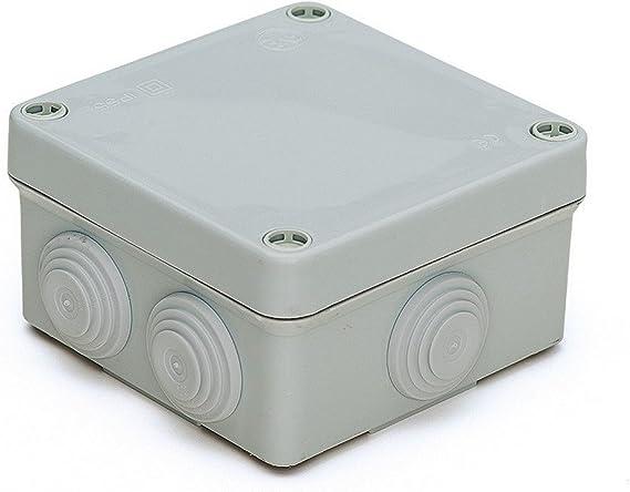 Famatel M111743 - Caja estanca ip55 100 x 100 x 55: Amazon.es: Bricolaje y herramientas