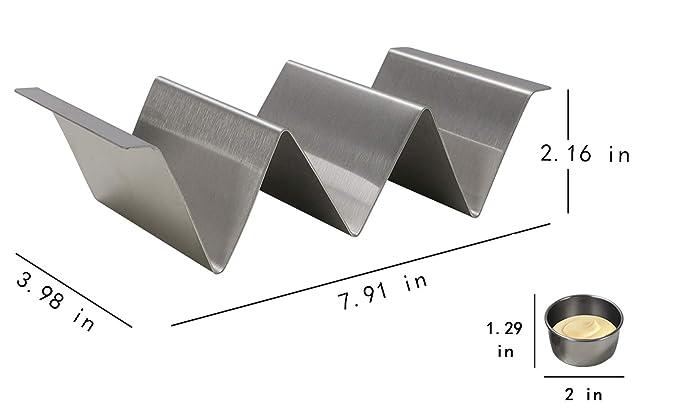Amazon.com: TQVAI - Soporte para taco de acero inoxidable ...