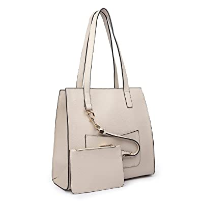 da6352555b Miss Lulu Brand Shoulder Bag with Small Purse Set Pu Leather Square Design  Fashion Zipper Handbags