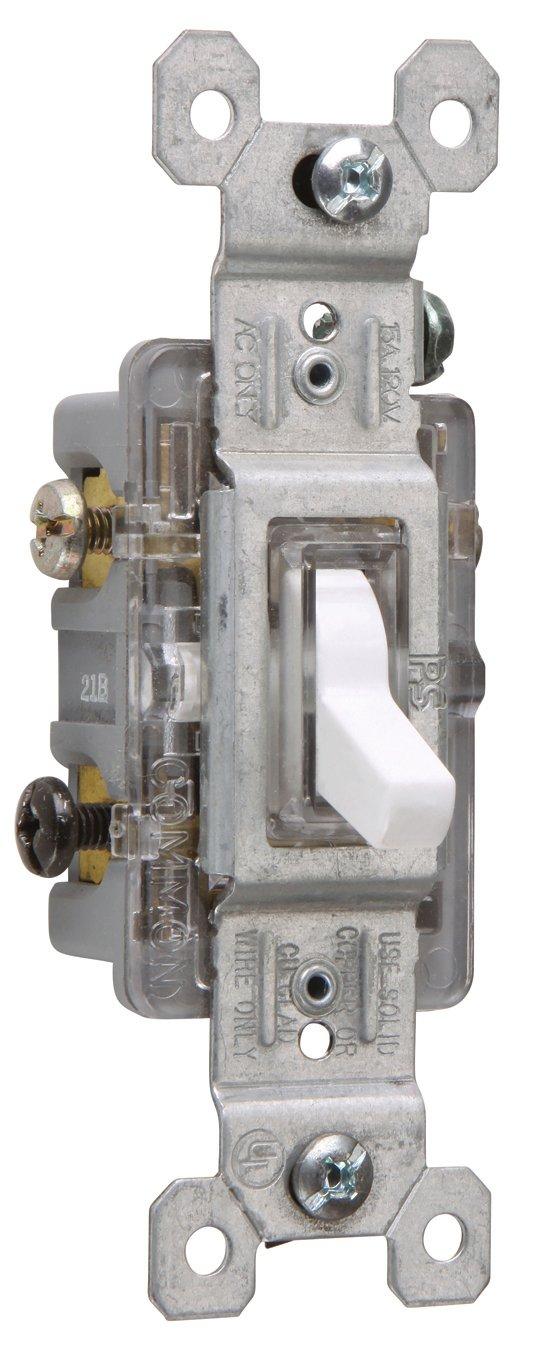 Legrand - Pass & Seymour 664GCC8 Four Way Toggle Switch Grounding 15 ...
