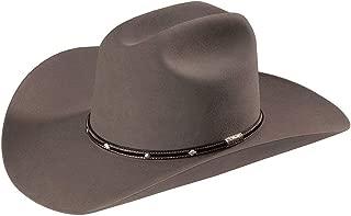 product image for Stetson Men's Angus 6X Fur Felt Cowboy Hat - Sfangs-754049 Granite Grey