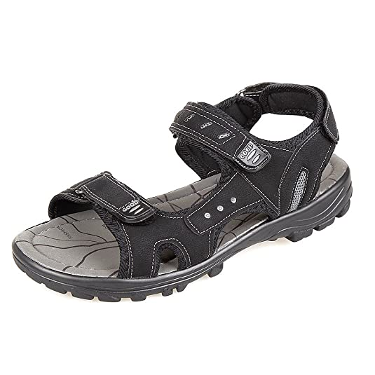 SC Mens Gents Sandals Velcro Fasten Padded Strap Hiking Beach Sandals Shoes  UK Sizes 7-11: Amazon.co.uk: Shoes & Bags