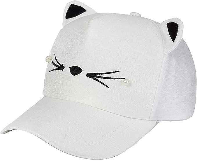 frgtrhb Gorra de béisbol Ajustable con diseño de Orejas de Gato ...