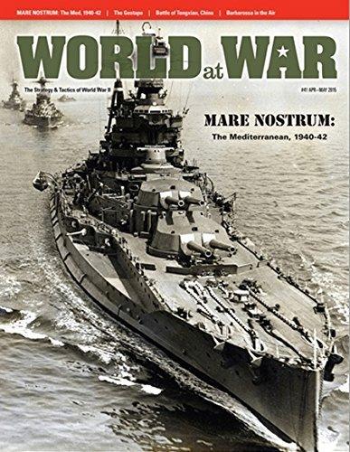 DG: World at War Magazine #41 Special Edition, with Mare Nostrum, the War in the Mediterranean 1940-44 Board Game