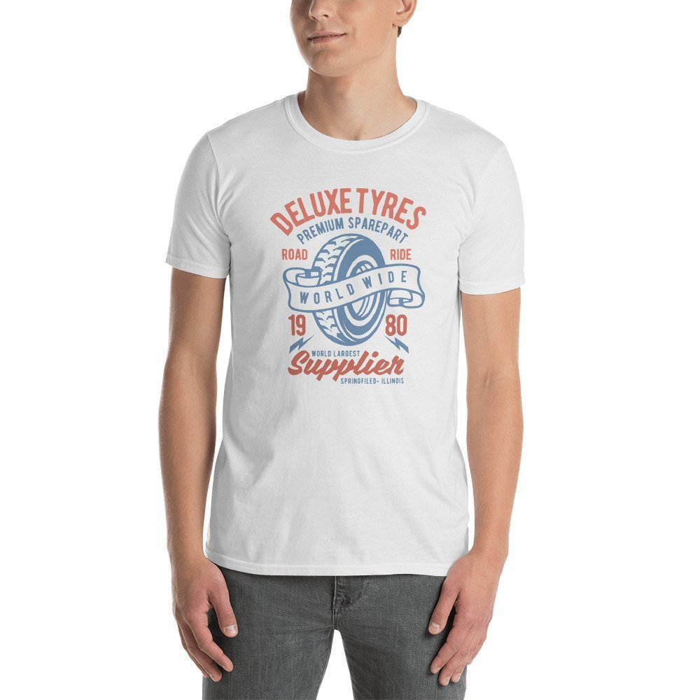Short-Sleeve Unisex T-Shirt DR-MASTERMIND Deluxe-Tyres