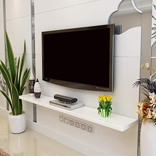 Mueble TV de Pared Pure Color Estante for TV montado en la Pared ...