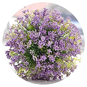 Lovely-Shop Artificial Purple Bridal Bouquet Bridesmaid Flower Girls Flower Wedding Bouquets Green Bride Bouquet De Mariage 2019 42