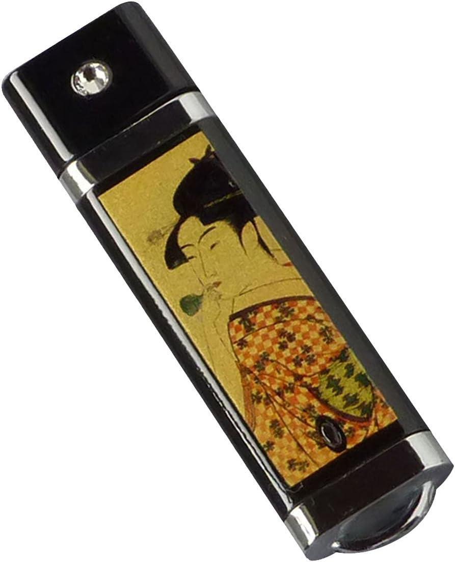 Urushi Nuri Maki-e USB Flash Drive 2gb japan coating Paulownia-wood Case
