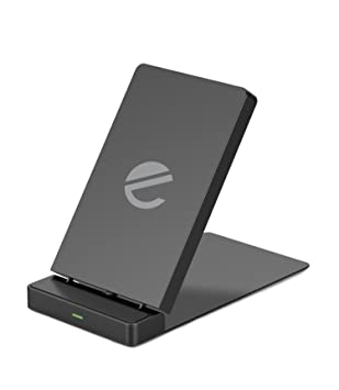 Cargador Inalámbrico Rápido 10W Qi Cargador Plegable para iPhone X, iPhone 8/8 plus, Galaxy S9 / S9 plus, S8 / S8 Plus, S7 / S7 Edge / S6 Edge, Nexus ...