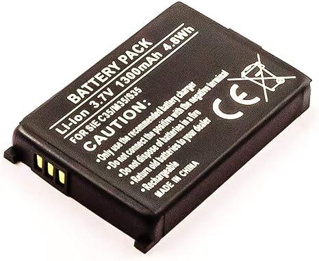 Batería de ion de litio para siemens c35 c35i m35 m35i s35 s35i