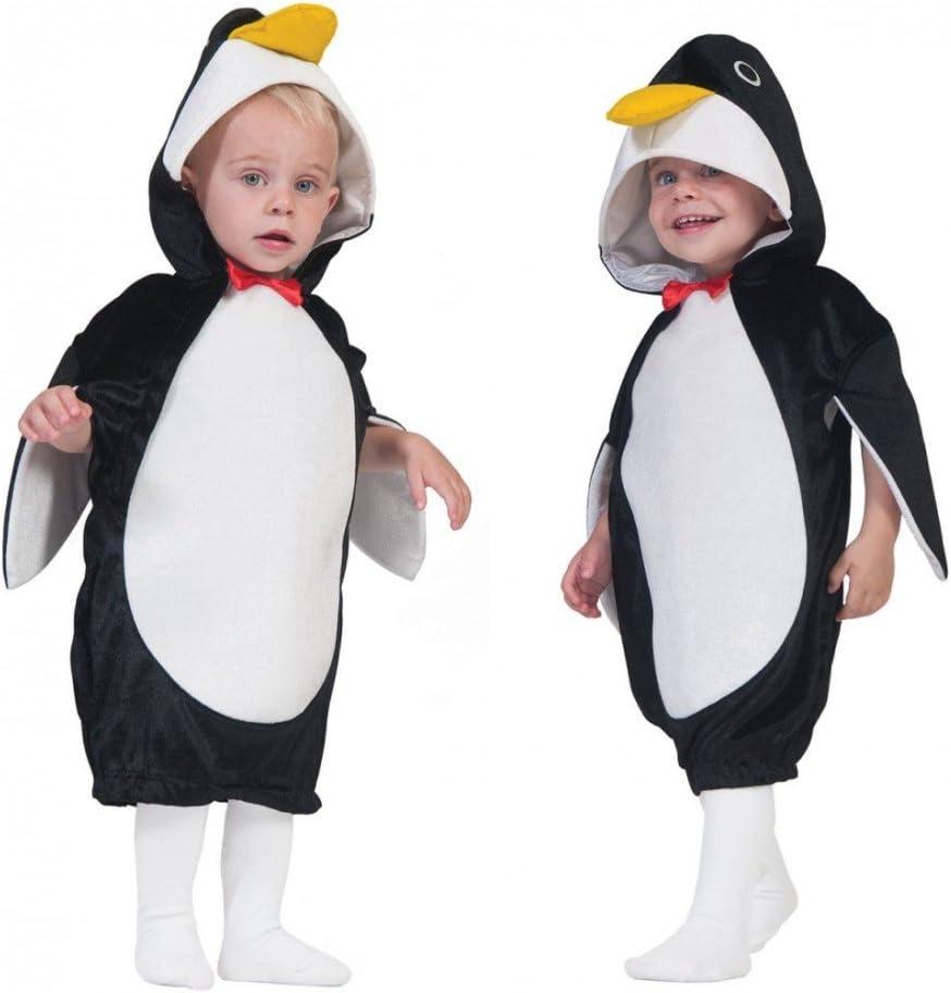 Funny Fashion Niños Disfraz Pingüino PIM (Talla 104 – 140 Mono ...