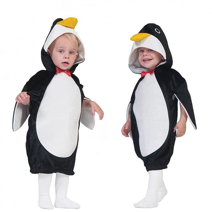 Funny Fashion Niños Disfraz Pingüino PIM (Talla 104 - 140 Mono ...