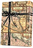 World Map World Traveller Gift Wrap Wrapping Paper - 15ft Roll