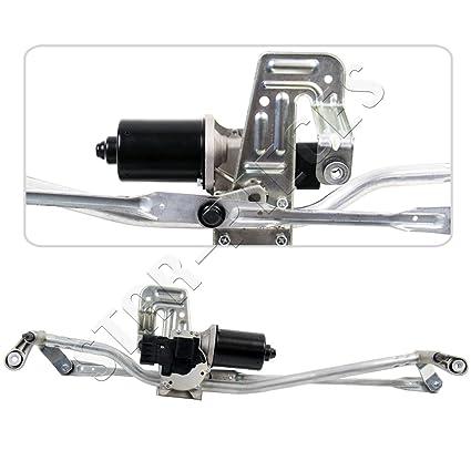 Motor de limpiaparabrisas delantero completo con mecanismo y tringlerie.