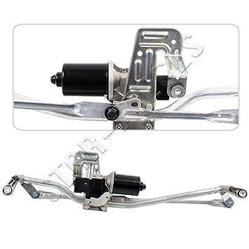 Motor de limpiaparabrisas delantero completo con mecanismo y tringlerie.: Amazon.es: Coche y moto