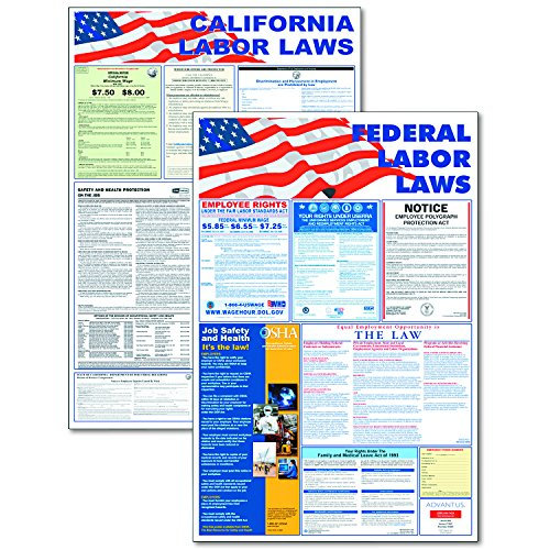 Federal Poster Packs - ADVANTUS State and Federal Labor Law Posters, Mail-In Card (83905)