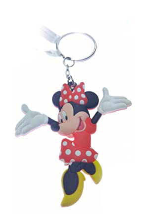 Disney Minnie - Llavero de goma: Amazon.es: Coche y moto