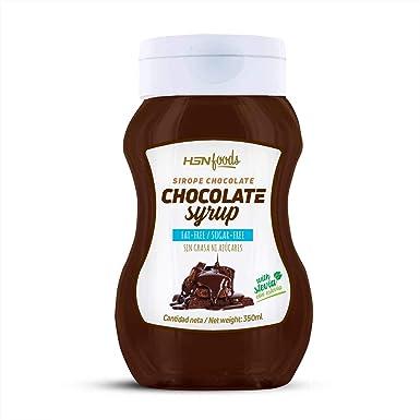 Sirope de Chocolate HSN Foods - Sin Grasa, Sin Azúcar, Edulcorado con Estevia,