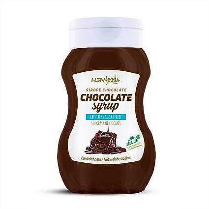 Sirope de Chocolate de HSN Foods - Sin Grasa, Sin Azúcar, Edulcorado con Estevia