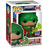 Funko Pop! TV: Masters of The Universe - King Hiss, NYCC 2020 Shared Fall Convention Exclusive Vinyl Figure…