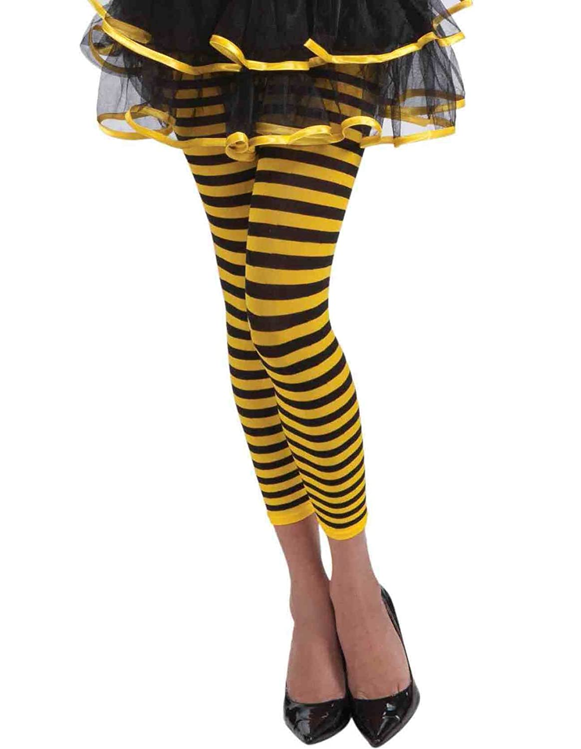 Forum Novelties Women's Novelty Bumble Bee Leggings Multicolored 66732