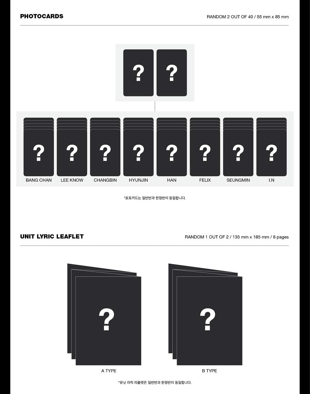 GO生 Limited Edition Album+Pre-Order Benefit+Folded Poster+Extra Photocards Set JYP Stray Kids