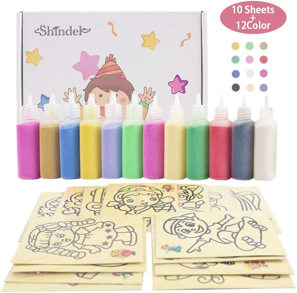Small Sand Art Picture Kit Fish