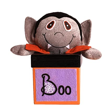 Sheep de H Halloween Cajas Bonitas dibujos animados Bombones Zombie Candy Jar Treat Cookie aufbewahrungstasche Caja