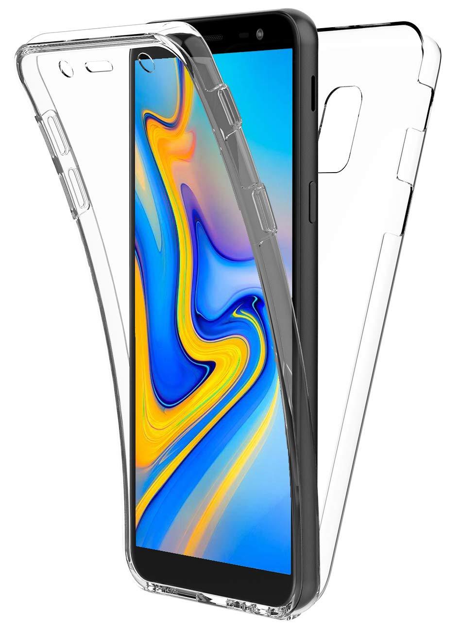 New&Teck - Carcasa para Samsung Galaxy J6 Plus 360, protección ...