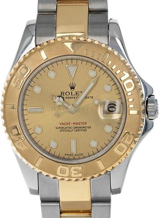 Rolex Yacht-Master Automatic-Self-Wind 168623 - Reloj de Pulsera para Hombre (Certificado prepropietario)