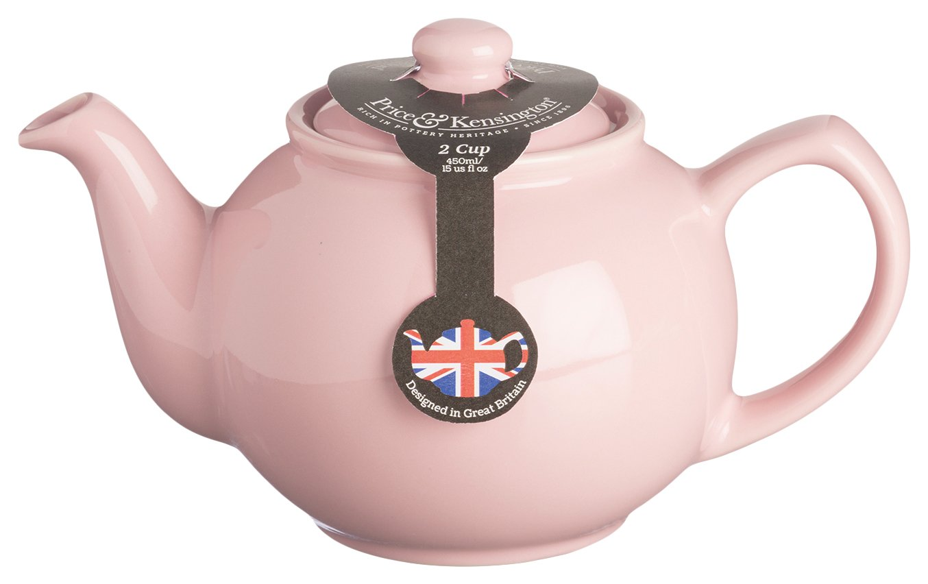 Price and Kensington pastello rosa ceramica di qualità tradizionale 2teiera Rayware 0056.774
