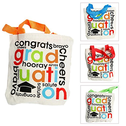 Cheers to the Grad Tote Bags