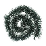 Christmas Tree Hanging Tinsel Ornaments, Iusun Xmas Tree Holiday Party Wedding Decoration (78.7X3.9inch, Green)