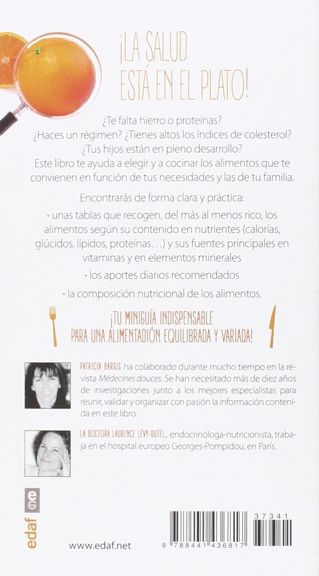Nutrientes, vitaminas y minerales (Spanish Edition): Patricia Bargis: 9788441436817: Amazon.com: Books