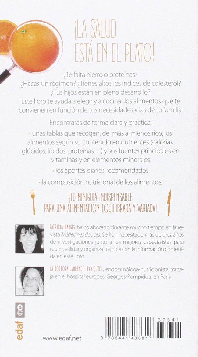 Nutrientes, vitaminas y minerales (Spanish Edition): Patricia Bargis: 9788441436817: Amazon.com: Books