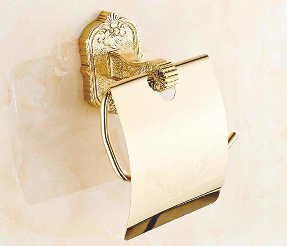 Amazon.com: LJ&L Continental Toallas De Papel Titular Tallado Titular Del Rollo De Papel Colgante De Metal BañO Titular De Papel WC No Se Oxida Marco De ...