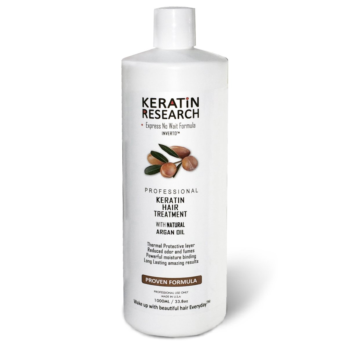 Brazilian Keratin Hair Treatment Professional X Large 1000ml Bottle Proven Amazing Results by Keratin Research (Image #2)