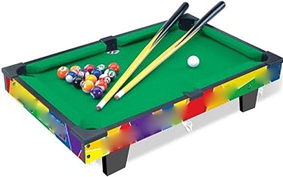 GUO Juguetes de simulación de mini mesa de billar pool de recreo ...