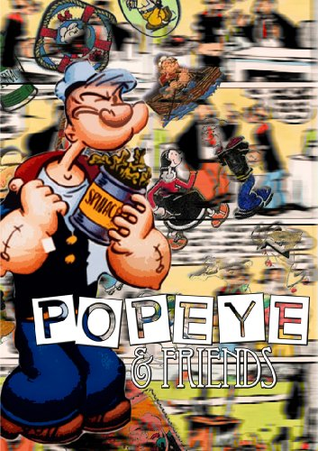 Popeye & Friends (DVD) Family/Animated/Cartoons ~ 2 DISC SET ~ America's favorite spinach-eating sailor-man, Popeye, and his sweetheart, Olive Oyl, find new ways to outwit bully Bluto in 15 fun-filled, (Popeye The Sailor Man And Olive)