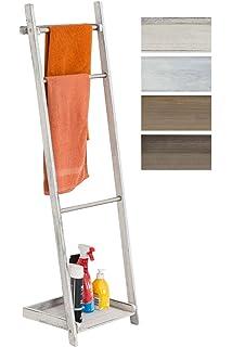 Escalera de bambú para toallas, 180 cm x 48/34 cm, color verde: Amazon.es: Bricolaje y herramientas